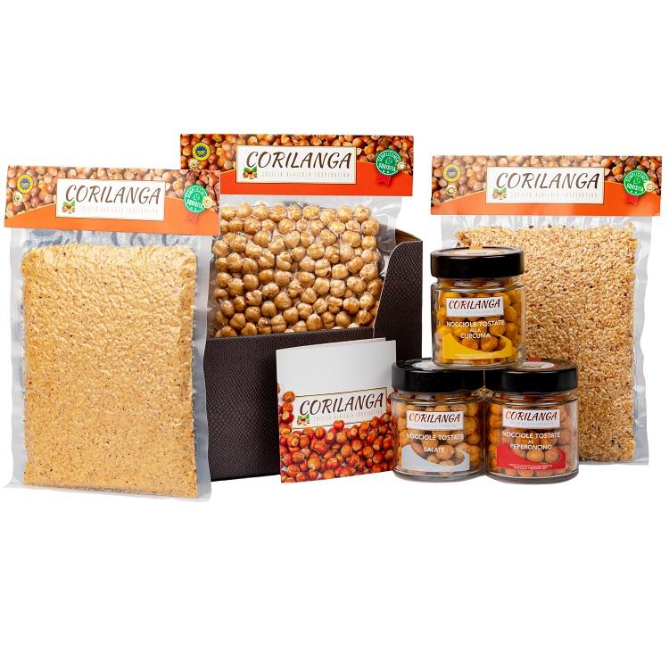 cofanetto-nocciola-piemonte-igp-tostato-granella-farina-salata-peperoncino-curcuma-regalo