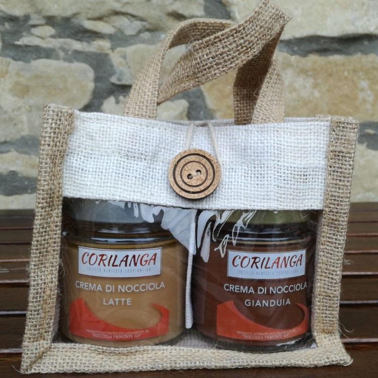 Confezione Regalo duo Crema di Nocciola latte - gianduia