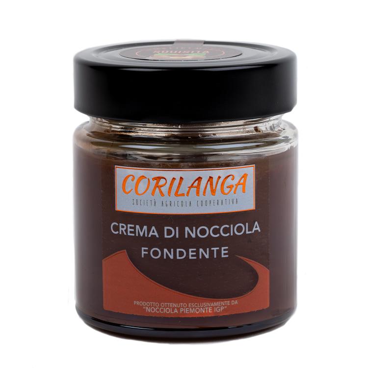 Crema di Nocciola Fondente 220 gr.