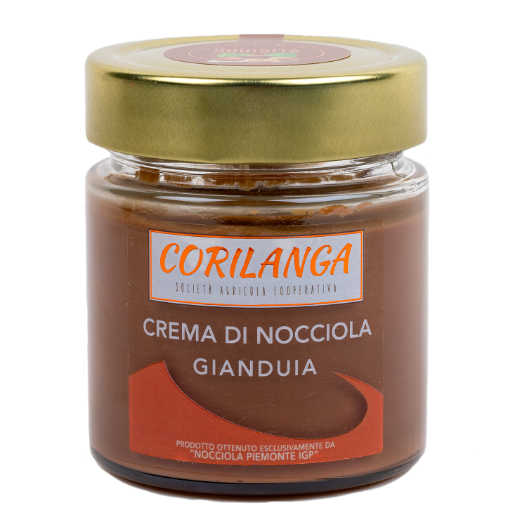 Crema di Nocciola Gianduia 220 gr.