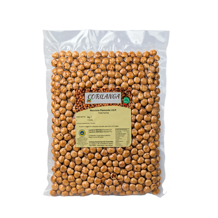Piedmont Hazelnut IGP roasted 1 kg