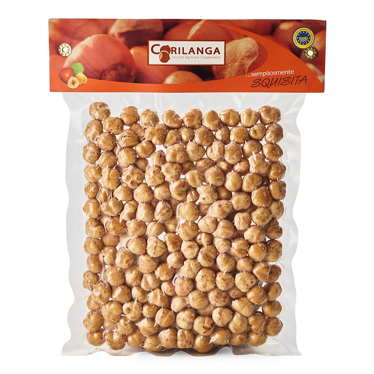 Nocciole tostate 500 gr.