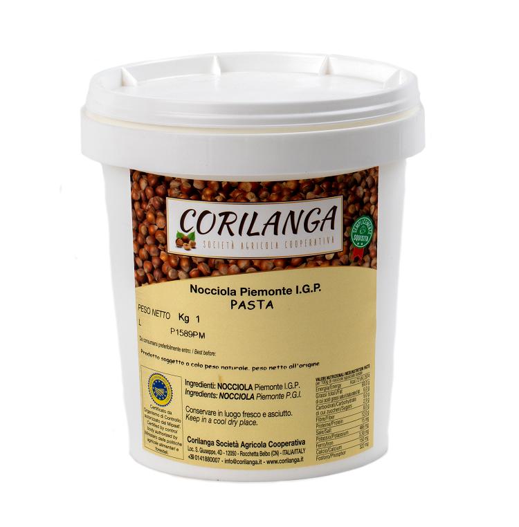 Piedmont Hazelnut IGP paste 1 kg
