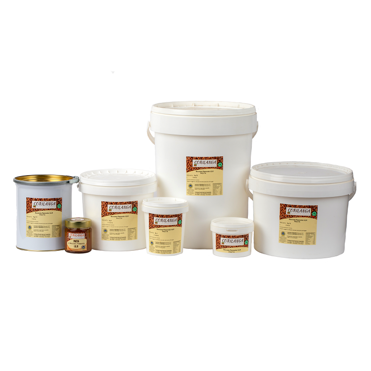 prodotti nocciola per gelaterie e pasticcerie
