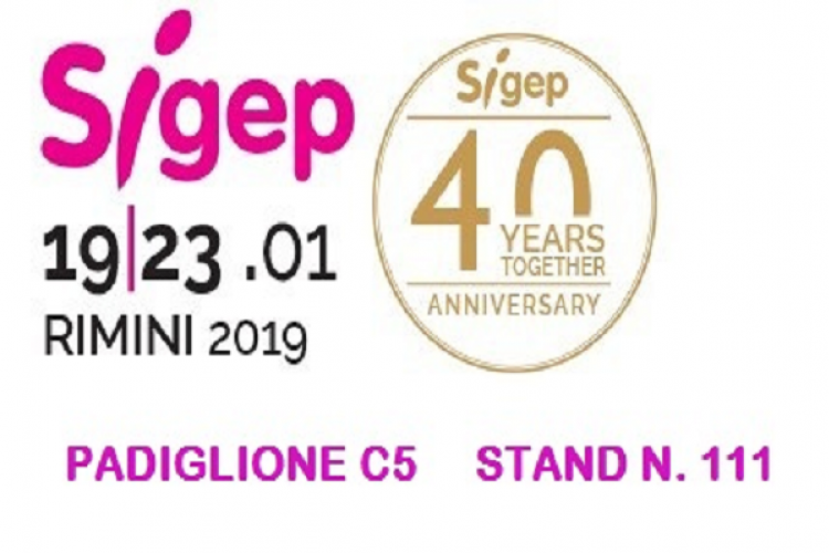 19-23rd of january 2019 SIGEP in Rimini.