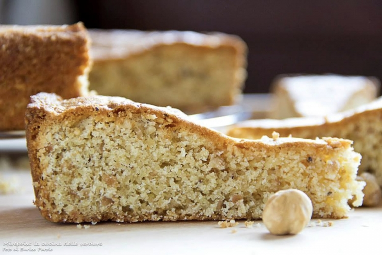 Piedmont hazelnut I.G.P.  cake.